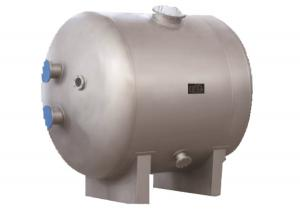China Horizontal Pool Filter Tank Stainless Steel Material With Automatic Exhaust Valve on sale