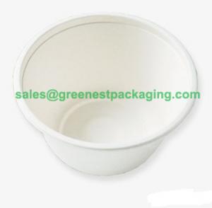 Quality Compostable Plant Fibre Molded Bowls/Cups for sale