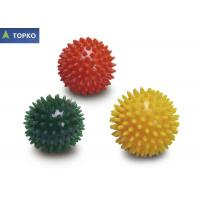 Portable Phthalates Free Spiky Bodyfit Exercise Ball Red Explosion - Proof
