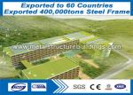 China Preengineered Metal Building Steel Frame Buildings Great TEKLA MODEL wholesale
