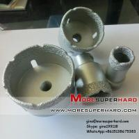 China Vacuum brazed diamond core drill bit for drilling marble, concrete, granite on sale