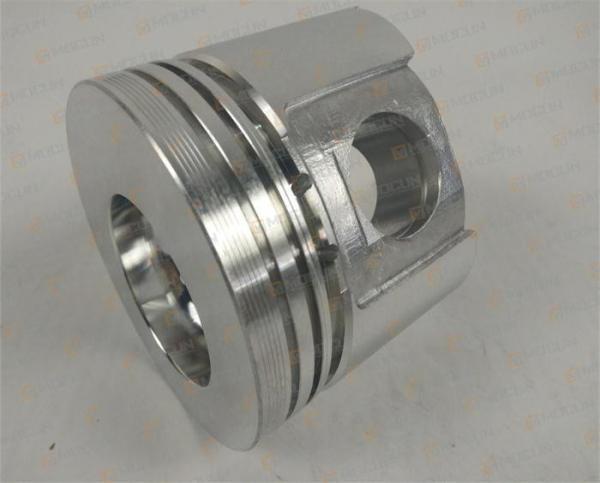 Aluminium Cast Alloy 4TNE88 Diesel Engine Piston Part For Yanmar