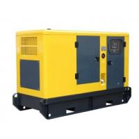 genset generator 180 kva with soundproof generator canopy by different colors