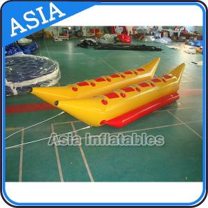 China Water Games Inflatable Boats Double Tubes Flying Fish Inflatable Banana Boat on sale