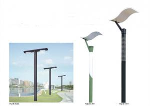 China High Luminance Commercial Outdoor Pole Lights , Ornamental Street Lights Long Service Life on sale