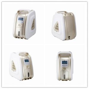 China 1~5L Concentration Portable Oxygen Concentrator Humidifier Sound Level ≤38dB One Switch Control on sale