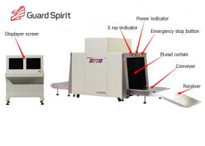 China Airport Xray Baggage Scanner , X Ray Security Scanner With Large Load Across on sale