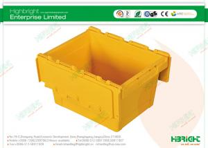 China Cheap Folding Plastic Containers Small Nestable Container 400x300x260mm on sale