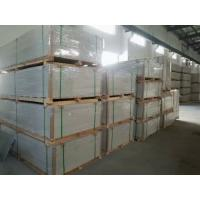 China Lightweight Exterior Fiber Cement Board Fence For Hotel / Hospital Fire Insulation on sale