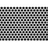 China 3mm Thick  Aluminum Perforated Metal , Powder Coated Perforated Alum Sheet AA1100 for sale
