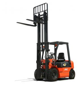 China Efficient Jac Automatic Diesel Counterbalance Forklift Truck 1.5 Tons on sale