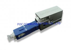 China SC Bare Fiber Optic Adapter Enable Quick and Easy Temporary Connections on sale