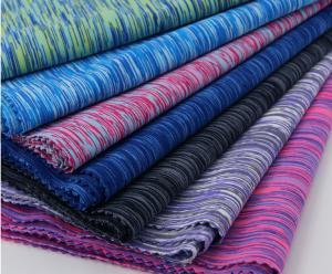 China Single Jersey Circular Knit Fabric , Camouflage Pattern Yarn Dyed Knit Fabric on sale