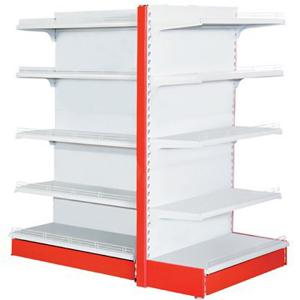 China Four Levels Supermarket Display Racks 120 - 150kg / Layer Loading Capacity on sale