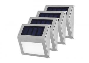 China Outdoor 3LED Solar Powered Led Garden Light , Stainless Steel Solar Stairs Light on sale