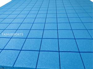 China Foam Shock Absorption Pad Outdoor Shock Pad Artificial Grass Always Ready For Use on sale