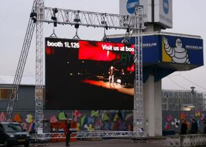 China IP65 Large Full Color Rental Led Display Outdoor Tv Screen 8kg / Pcs Per Cabinet on sale