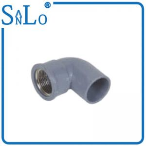 China Stock Threaded Plumbing Joints Copper To Plastic 90 Degree Plumbing Plastic on sale