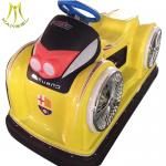 Hansel  hot selling plastic battery operated used bumper car ride on  go kart