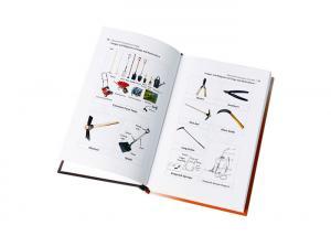 China Matt Finish Single Copy Book Printing Glue Spiral Binding Special Type Paper on sale