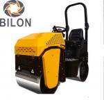 13HP Honda Vibratory Road Roller Gasoline Engine Double Wheels With Hydraulic Transmission