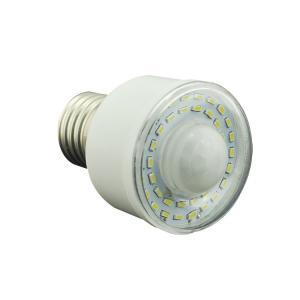 China 5W PIR led motion sensor light E27/B22 holder night light white color on sale