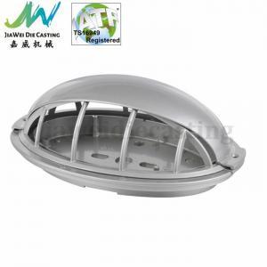 China Street Light Aluminum Cast Lighting Parts with Shot Blasting Surface on sale