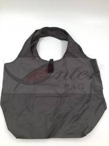 China 210D Polyester Foldable Reusable Tote Bags / Reusable Collapsible Grocery Bags on sale