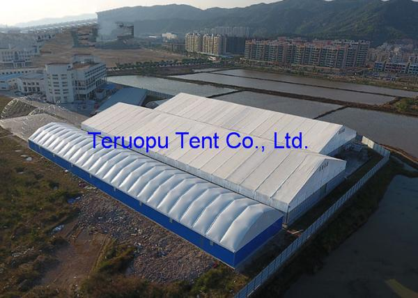 Warehouse Tent, Industrial Storage Tent with door and Hard