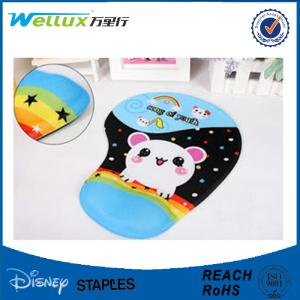 China Customized 3D Breast Mouse Pad Wrist Support for Laptop Cloth / PU / Fabric on sale