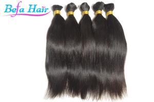 China Elegante 8 12 100% Human Hair Bulk Copper Red / Burgundy Hair Extensions on sale