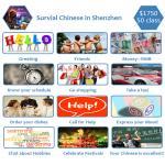 Lição chinesa da sobrevivência audiovisual, prática que fala e que escuta
