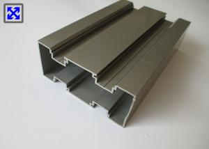 China Champagne Color Industrial Aluminum Profile Good Formability For Pipeline on sale