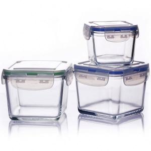 pyrexheat resistantborosilRound glass microwaveable container