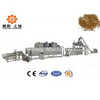 Wet Method Floating Fish Feed Production Plant , Fish Food Making Machine High Output Capacity