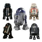 Star War 6 Inch Robot Action Figures For Collection OEM / ODM Available