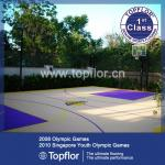 Sports Interlock Plastic Floor For Outdoor Basketball Court