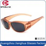 Windproof Fashion Polarized Fit Over Sunglasses With Bling PC Frame Eyewear