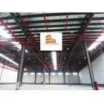 construction design prefabricated steel warehouse
