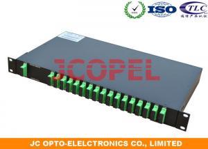 China Single ModeFiber DWDM Dense Wavelength Division Multiplexing Optics 18 channel Passive Optical Equipment on sale