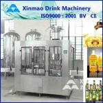 2 In 1 Lubricant Oil Filling Machine , PLC Rotary Filling Capping System