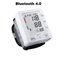 Bluetooth 4.0 Wrist digital lcd blood pressure monitor portable Tonometer Meter blood pressure meter for iOS and Android