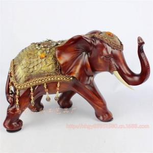 China Resin Elephant Decoration Resin Elephant Craft Resin Thailand Elephant Figure (XH070) on sale