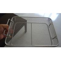 Medical Sterilization Stainless Steel Wire Basket Special Weave 0.02mm Tolerance