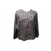 200g Natural Ladies Knitwear 55% Hemp 45% Cotton Digital Print Breathable
