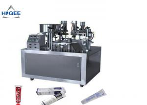 China Toothpaste Tube Filling And Sealing Machine Semi Automatic 20pcs Per Minute on sale