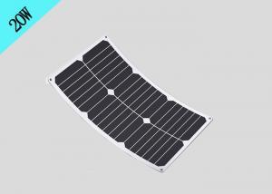 China Sunpower 20W Waterproof Flexible Solar Panel For Outdoor Solar Surveillance Cameras on sale