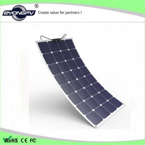China EYONGPV 100W sunpower flexible solar panel charge 12V battery 1050 *540 * 3 mm on sale