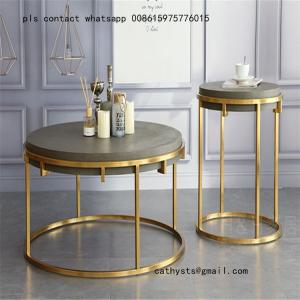 China high quality stainless steel coffee table and chairs for hospitality and restaurant on sale