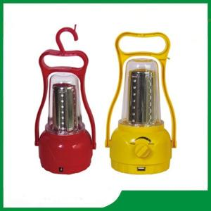China Colour can be selectived portable solar led lantern with hand cranking for camping on sale